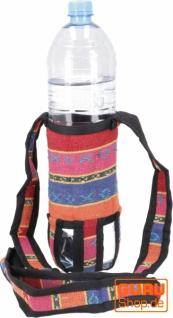 Wasserflaschen Tasche, Flaschenhalter Ethno - Modell 3