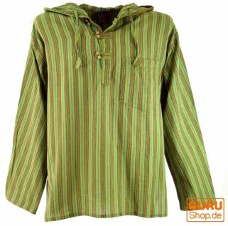 Nepal Hemd, Goa Hippie Sweatshirt - grün