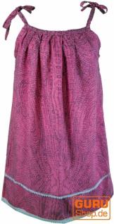 Kinderkleid, Sommerkleid, Trägerkleid, Strandkleid, Minikleid - pink