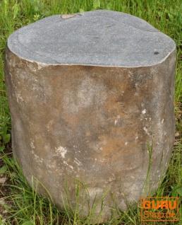 Flußstein Tisch, Hocker - 8