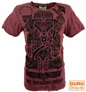 Sure T-Shirt Tribal Ganesha - bordeaux