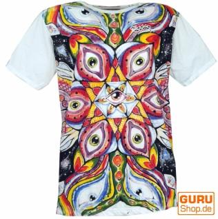 Mirror T-Shirt - Drittes Auge / weiß