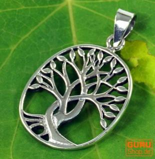 Silberanhänger Baum des Lebens, Tree of Life Talisman - Model 3