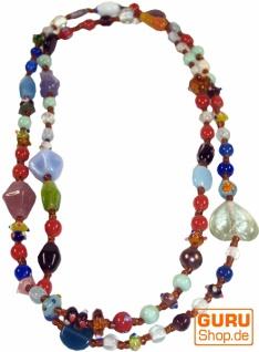 Modeschmuck, Boho Perlenkette - Model 5