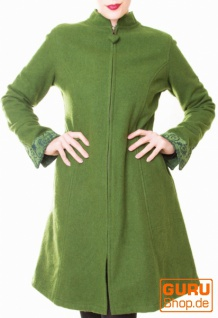 Kurzmantel / Chapati Design - green