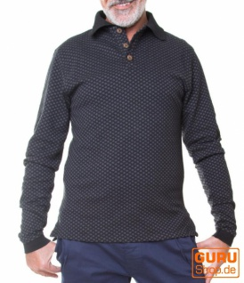 Pullover aus Bio-Baumwolle / Chapati Design - charcoal black