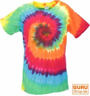 Buntes Batik T-Shirt für Kinder Größe 146 - Model 3