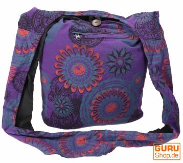 Sadhu Bag, Goa Tasche, Schulterbeutel, Einkaufsbeutel - Modell 18