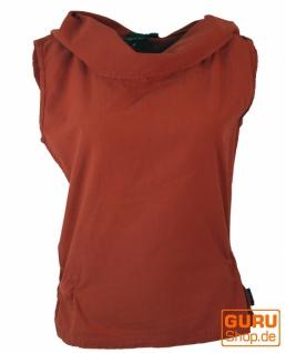 Ethno Shirt Hoodie Goa chic - rostorange