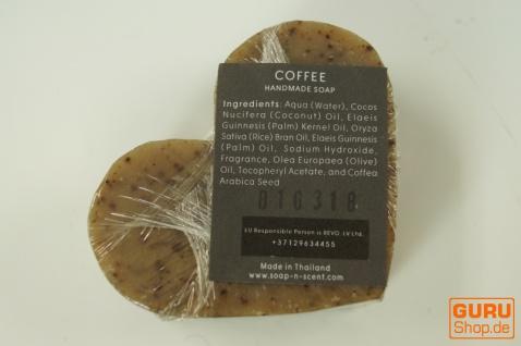Seifenset Heart on the Rock, 75 g Seife auf Bimsstein, Fair Trade - Coffee - Vorschau 4