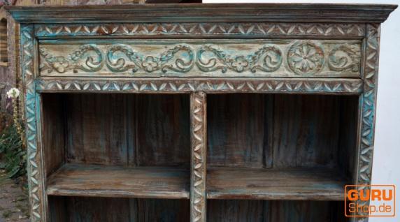 Antikes aufwendig verziertes Bücherregal - Vorschau 3