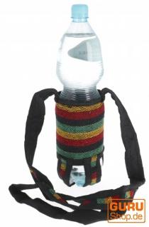 Wasserflaschen Tasche, Flaschenhalter Ethno - Modell 4
