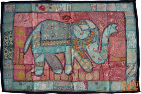 Indischer Wandteppich Patchwork Wandbehang, Einzelstück 150*100 cm - Muster 54