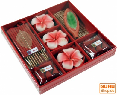 Räucher & Duftset aus Thailand - Rose