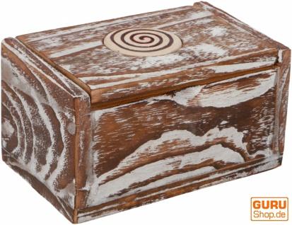 Schmuckkästchen, Holzschachtel in 3 Größen - rechteckig Modell 1