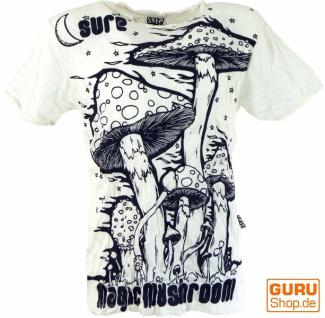 Sure T-Shirt Magic Mushroom - weiß