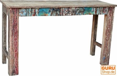 Sideboard, Highboard im Antik Look mit vielen Details - Modell 1