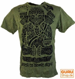 Sure T-Shirt Tribal Ganesha - olive