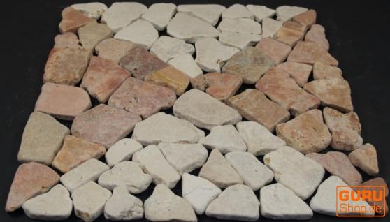 Muster Mosaikfliese aus Marmor (Mo-04) - Design 17 - Vorschau 3