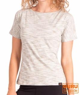 T-Shirt aus Bio-Baumwolle / Chapati Design - olive