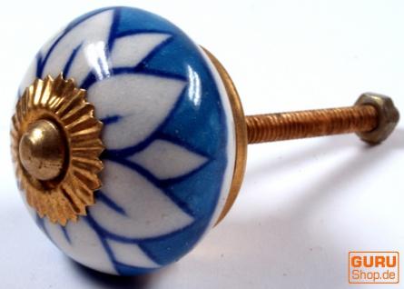 Keramik Möbelknopf, Möbelknauf Möbelgriff, Schranktürknöpfe, Möbelknöpfe, Schubladengriff - Modell 81