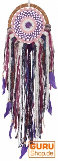 Traumfänger - violett/bunt 16 cm