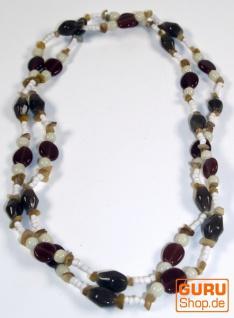 Modeschmuck, Boho Perlenkette - Model 6