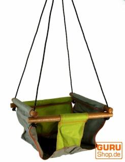 Baby und Kleinkind Hängesitz, Sitzschaukel - grün