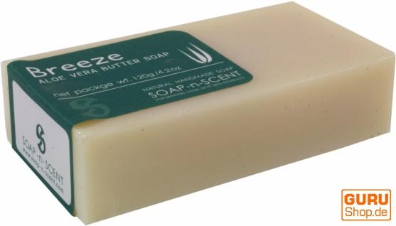Handgemachte Aloa Vera Butter Seife, 120 g Fair Trade - Breeze