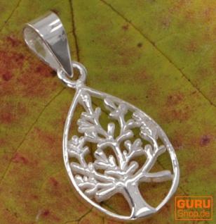 Silberanhänger Baum des Lebens, Tree of Life Talisman - Model 12