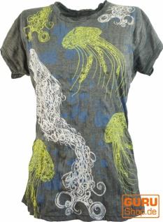 Pure T-Shirt Jellyfish - antharazit