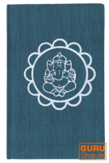Notizbuch, Tagebuch - Ganesh Mandala petrol