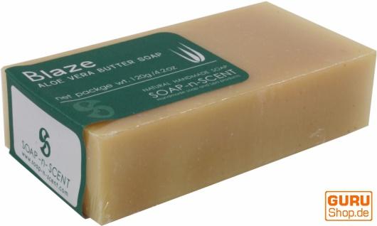 Handgemachte Aloa Vera Butter Seife, 120 g Fair Trade - Blaze