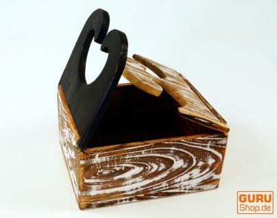 Schmuckkästchen, Holzschachtel in 3 Größen - Vorschau 3