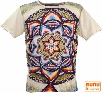 Mirror T-Shirt - Universum / beige