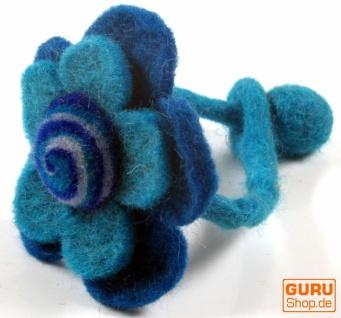 Filzarmband Blüte