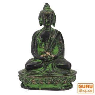 Buddha Statue aus Messing Dhyana Mudra 8 cm - Modell 10