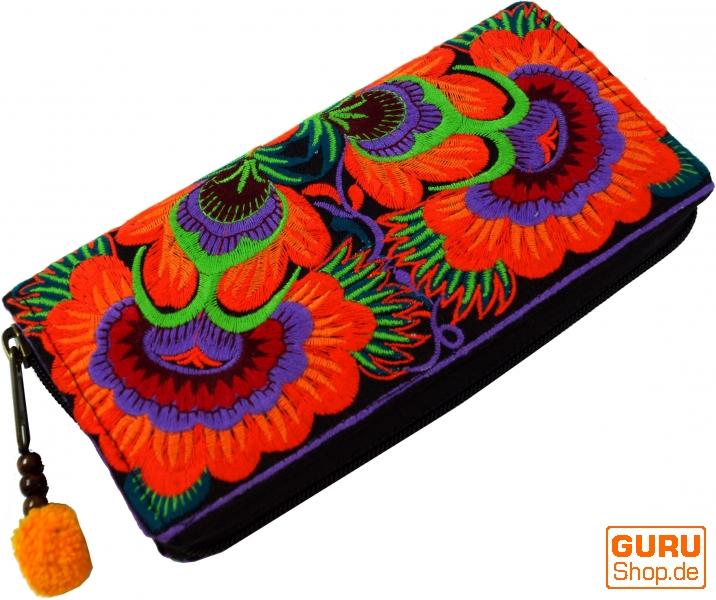 720877779092b Besticktes Ethno Portemonnaie Chiang Mai - orange - Kaufen bei Guru ...