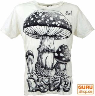 Sure T-Shirt Fliegenpilz - weiß
