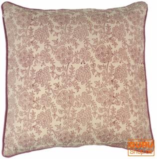 Kissenbezug Blockdruck, Kissenhülle Ethno, Dekokissen Bezug mit traditionellem Design - Muster 16