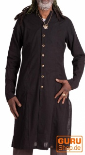 Cardigan aus Bio-Baumwolle / Chapati Design - black