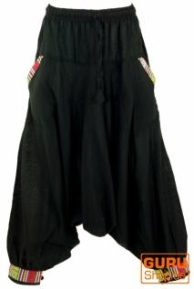 Pluderhose, Aladinhose Nepali - schwarz