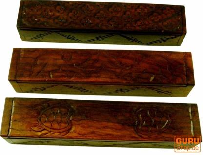 Schmuckschatulle, Holzschachtel in 3 Varianten