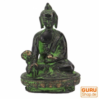 Buddha Statue aus Messing Medizin Buddha 8 cm - Modell 4