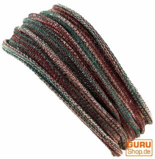 Magic Hairband, Dread Wrap, Schlauchschal, Stirnband - Haarband olive melliert
