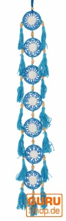 Traumfängerkette - hellblau