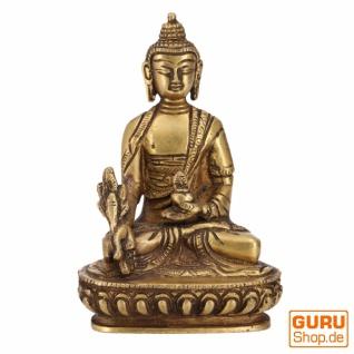 Buddha Statue aus Messing Medizin Buddha 14 cm - Modell 11