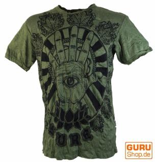 Sure T-Shirt Magic Eye - olive