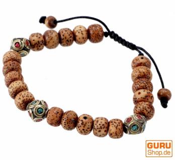 Mala Armband Bodhi Samen, Handmala - Modell 31