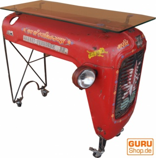 Traktor Sideboard mit Glasplatte - Modell 3